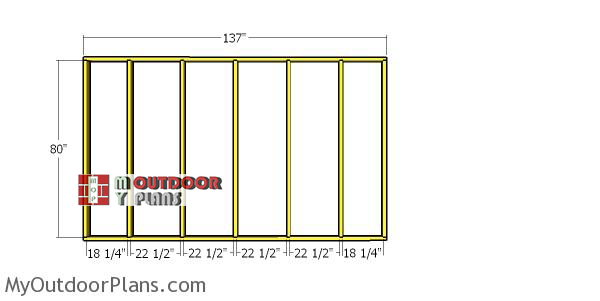 Back-wall-frame-4x12-shed