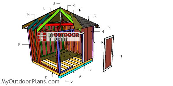 Building-a-10x10-hip-roof-shed