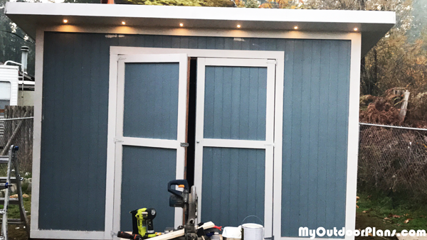 10x12 Lean to Shed - DIY Project