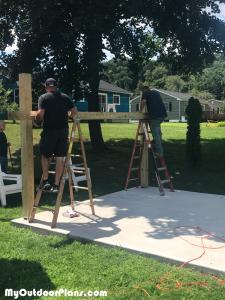 Building-a-wooden-pavilion