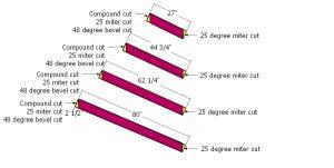 Building the jack rafters - 12x12 gazebo