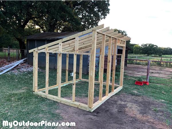 Frame-of-a-goat-shelter