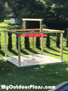 Frame-of-the-pavilion