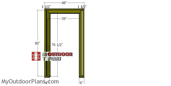Front-wall-frame-4x12-shed
