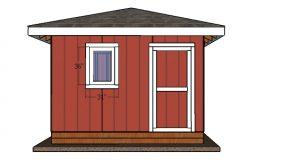12×12 Shed Door – DIY Plans
