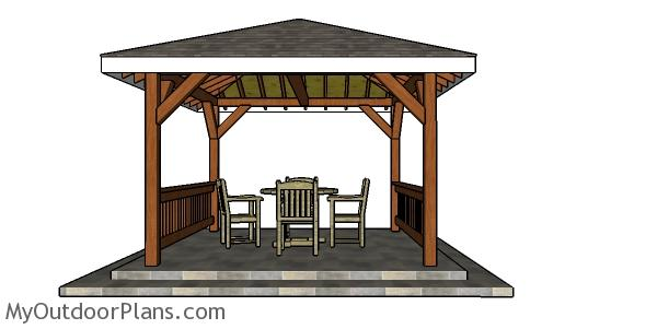 How to build a 12x12 gazebo