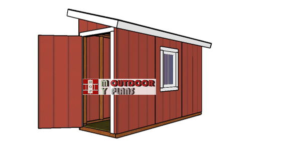 How-to-build-a-4x12-lean-to-shed