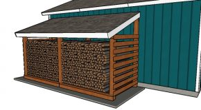 5 Cord Firewood Shed – Free DIY Plans