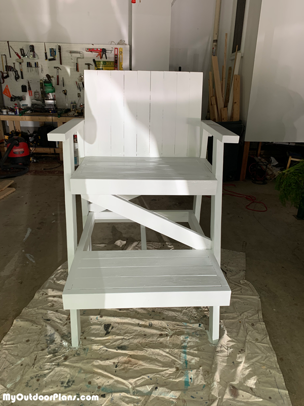 Lifeguard Chair - DIY Project