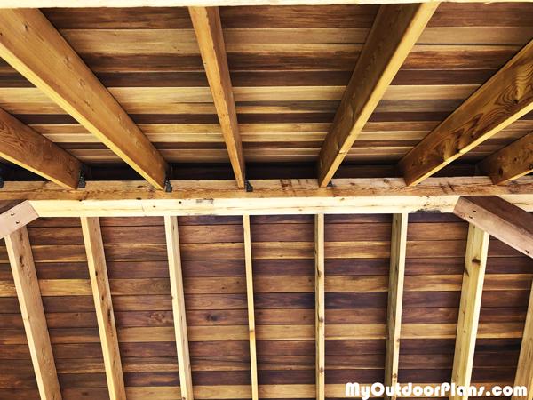 Pavilion-roof-structure