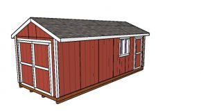 10×24 Shed – Free DIY Gable Plans