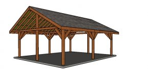 20×24 Pavilion – Free DIY Plans