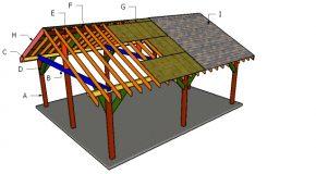 20×24 Pavilion Roof Plans
