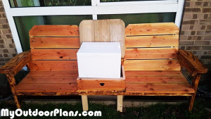 Building-a-double-chair-bench-with-cooler
