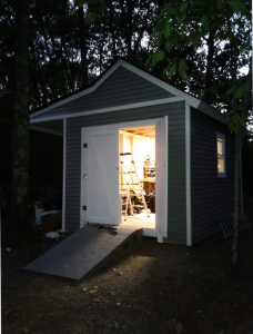 Building-a-shed-with-porch