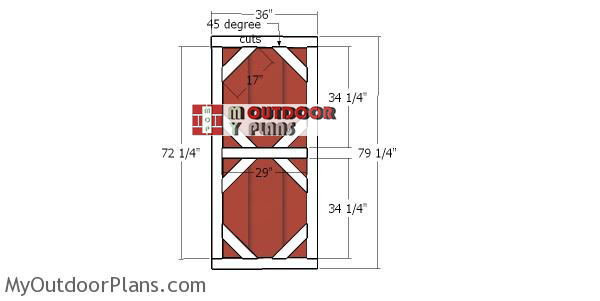 Door-frame---6x10-gambrel-shed
