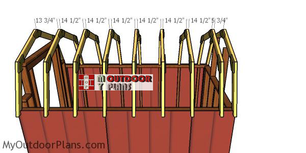 Fitting-the-trusses-to-the-barn-shed