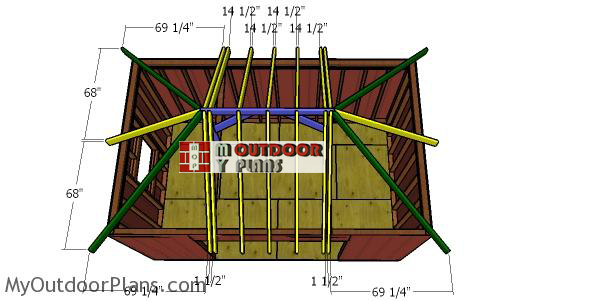 Fitting-the-common-rafters