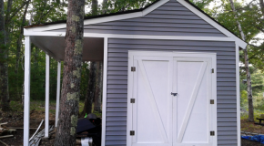 DIY 10×14 Shed with Porch