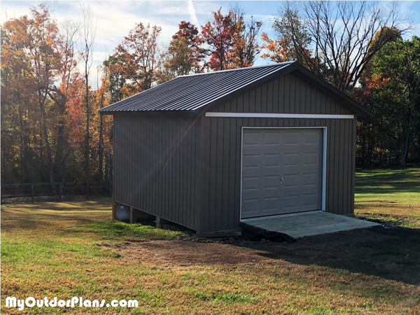 DIY 16x16 Gable Shed