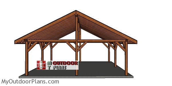 24x24-pavilion-plans-free