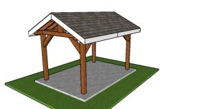 8×12 Outdoor Pavilion – Free DIY Plans