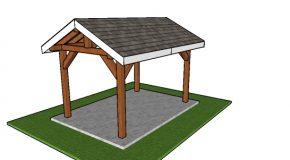 8×12 Outdoor Pavilion – Free DIY Plans