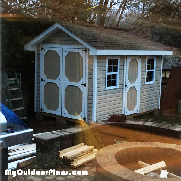 8x12 Gable Shed - DIY Project