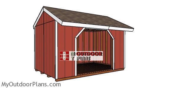 8x12-firewood-shed-plans