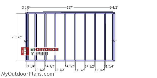 Back-wall-frame-for-8x12-wood-shed