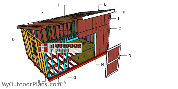 Building-a-12x18-lean-to-shed