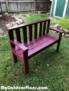 Building-a-2x4-garden-bench