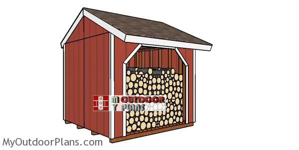 Building-a-8x8-small-wood-shed