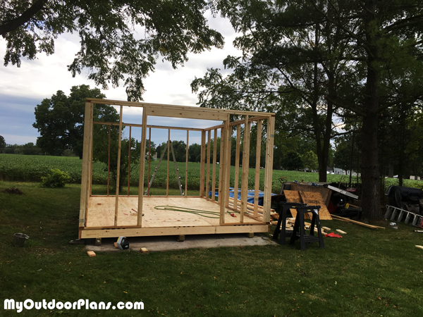 Building-the-frame-of-the-12x16-barn-shed