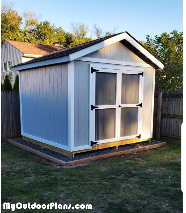 DIY 10x10 Gable Shed