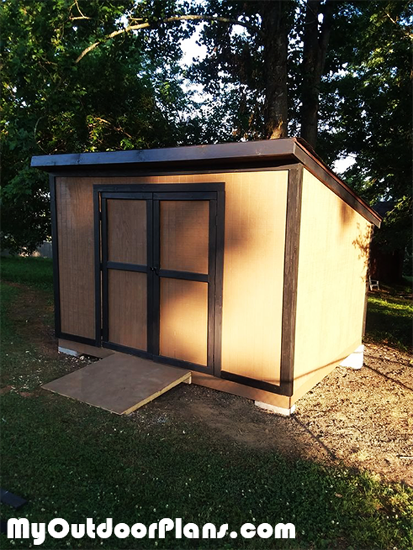 DIY Lean to Shed 10x12