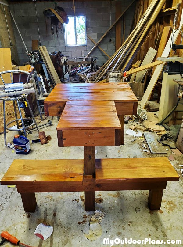 DIY Double Seat Shooting Bench