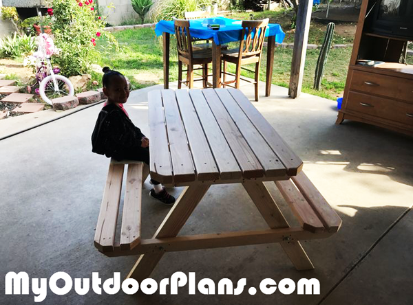 DIY Picnic Table 8 ft