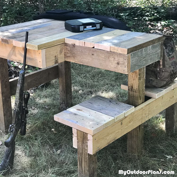 Double Shooting Bench - DIY Project
