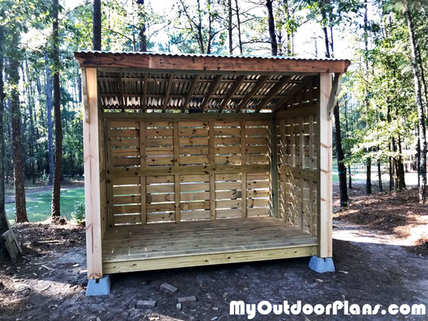 Wood Storage Shed - DIY Project