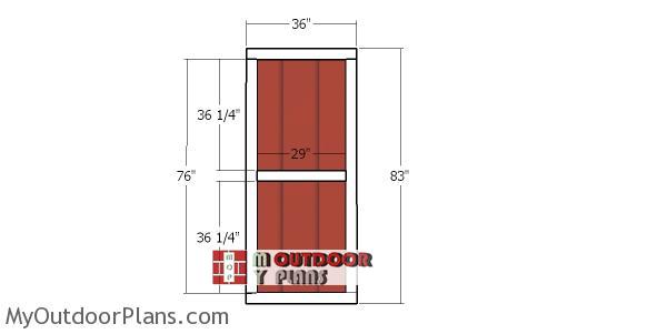 Door-frame-plans
