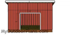 Double doors jambs