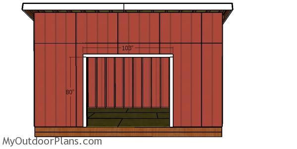Double doors jambs