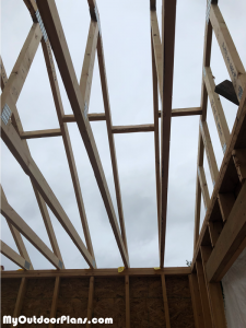 Fitting-the-trusses-to-the-top-of-the-shed
