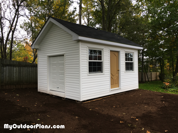 12x16 Garden Shed - DIY Project
