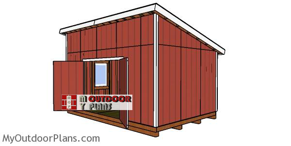 How-to-build-a-12x18-lean-to-garden-shed