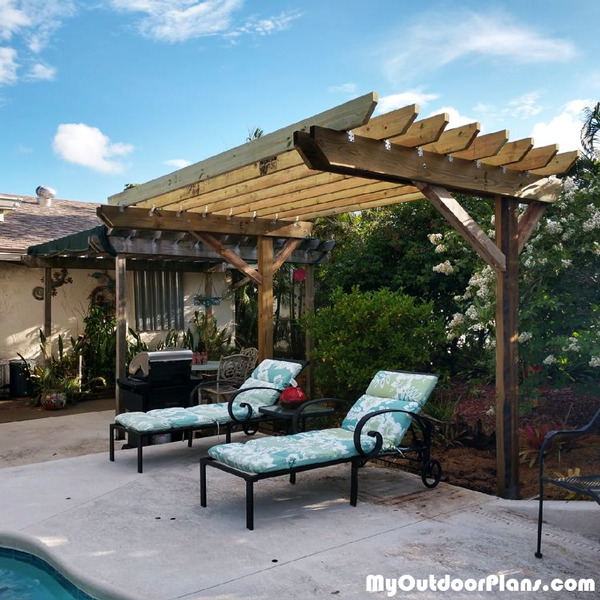 2 Post Pergola - DIY Project