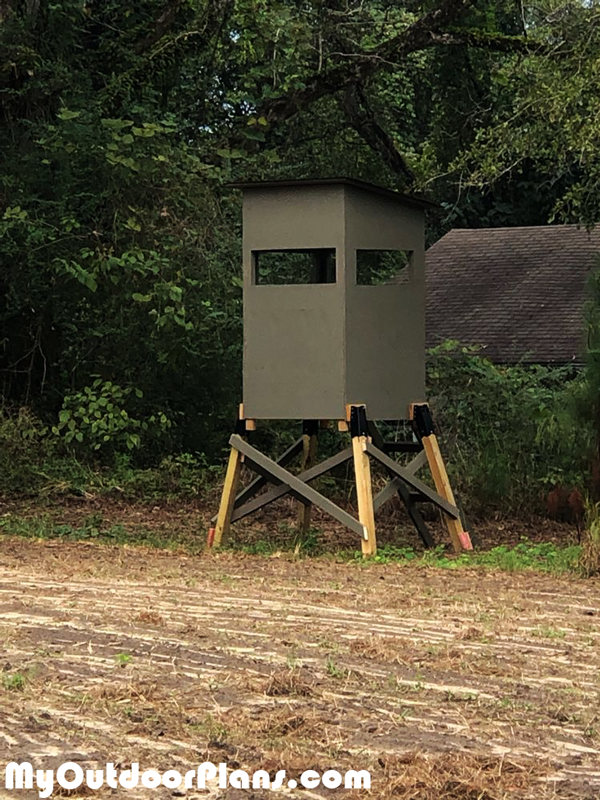 How-to-build-a-deer-stand