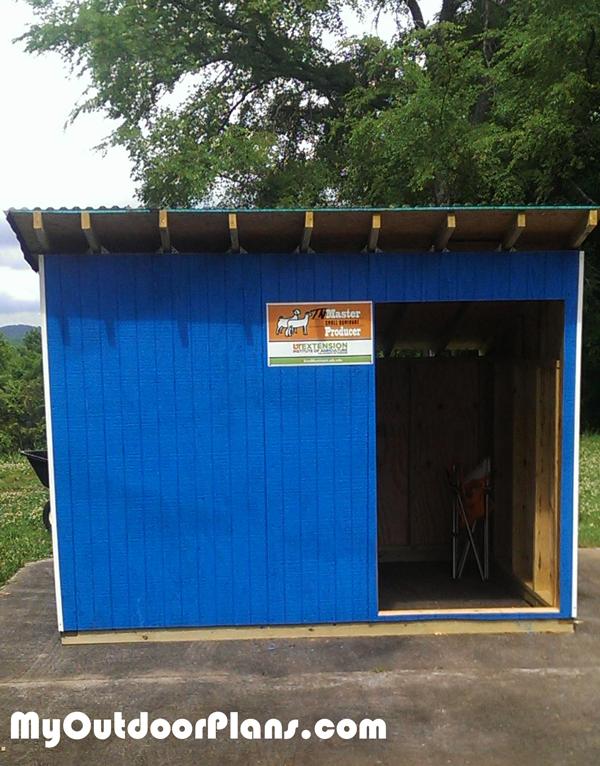 Goat Shelter - DIY Project