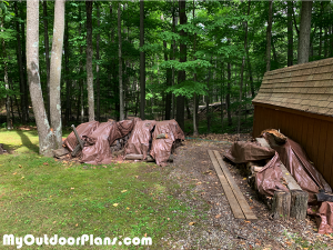 Location-for-the-firewood-shed